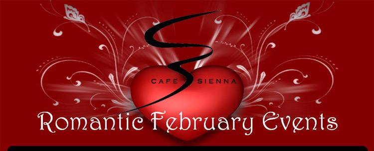 Romantic February Events