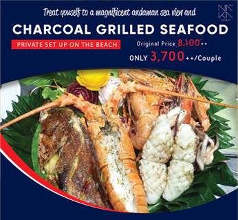Charcoal Grilled Seafood