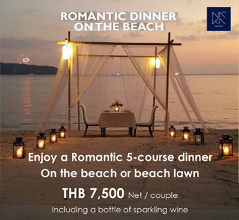 naka romantic dinner