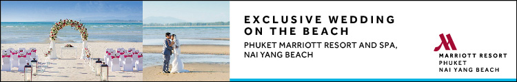Exclusive wedding on the beach