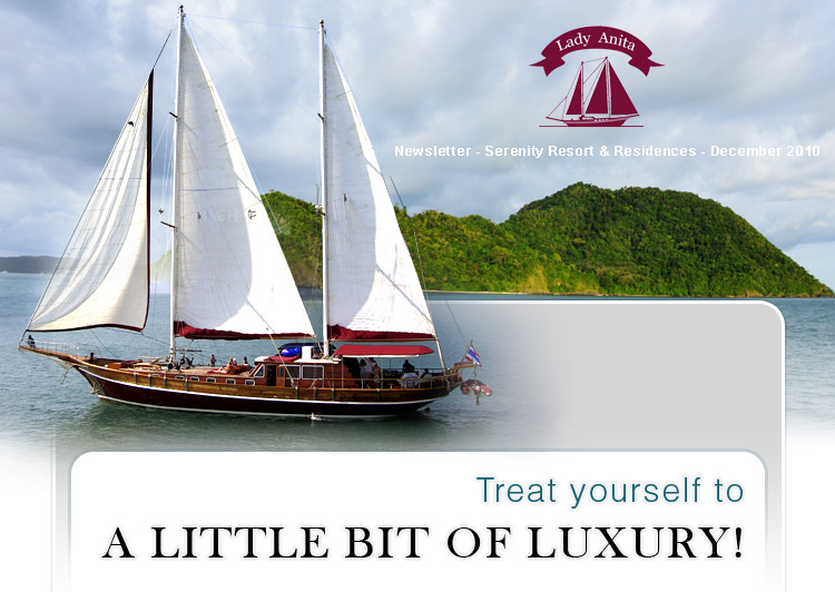 Treat yourself to a little bit of luxury