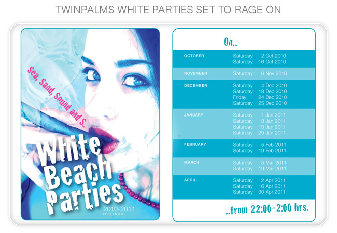 White Beach Parties
