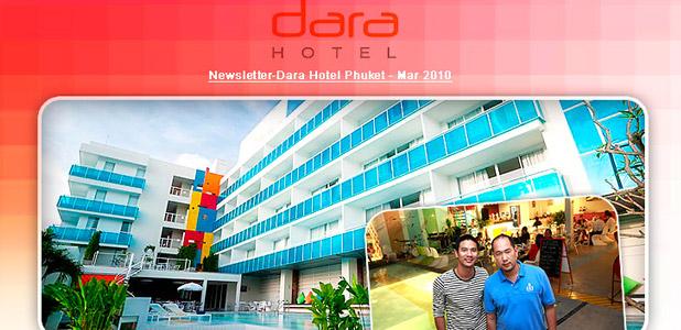 Dara Hotel, Newsletter Mar 2010