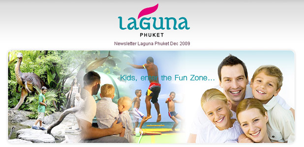 Laguna Phuket, Newsletter Dec 2009