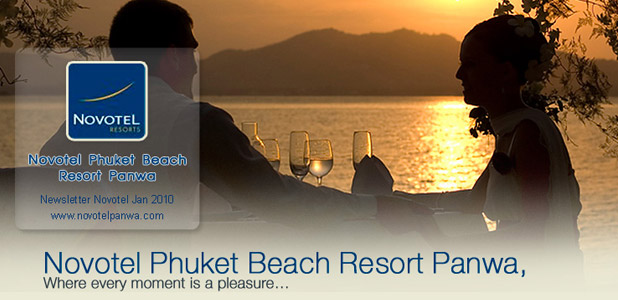 Novotel Phuket Beach Resort Panwa, Newsletter Jan 2010