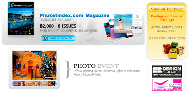 Phuketindex.com, Newsletter Dec 2008