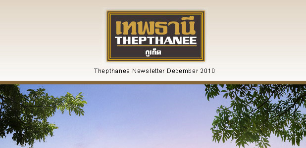 Thepthanee, Newsletter Dec 2010