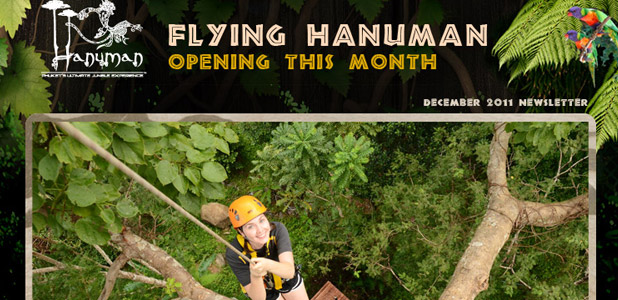 Flying Hanuman, Newsletter December 2011