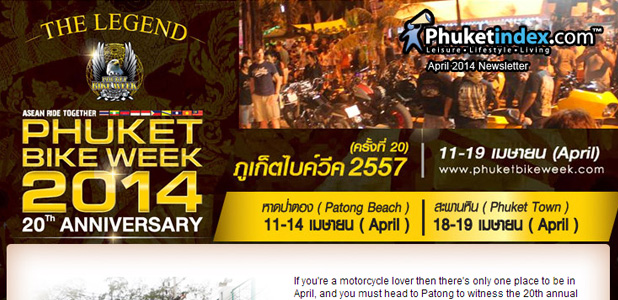 Phuketindex.com, Newsletter April 2014