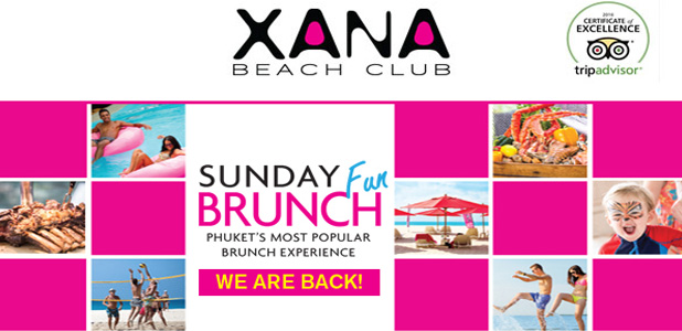 XANA Beach Club, Newsletter February 2017