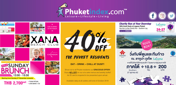 Phuketindex.com, Newsletter October 2019
